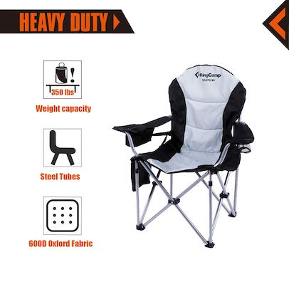 Brilliant Best Camping Chair For Bad Back Review Buying Guide 2019 Squirreltailoven Fun Painted Chair Ideas Images Squirreltailovenorg