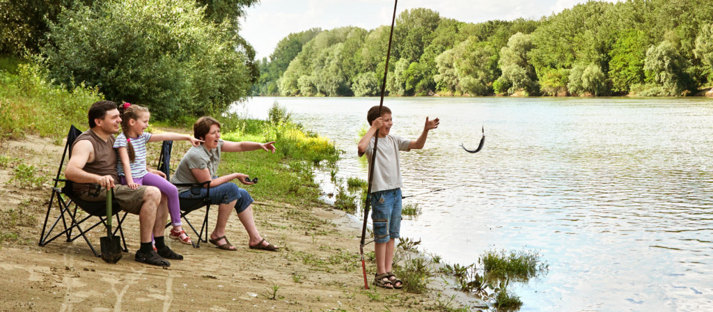 Take your camping chair with lumbar support down to the fishing stream without any strain on your back.