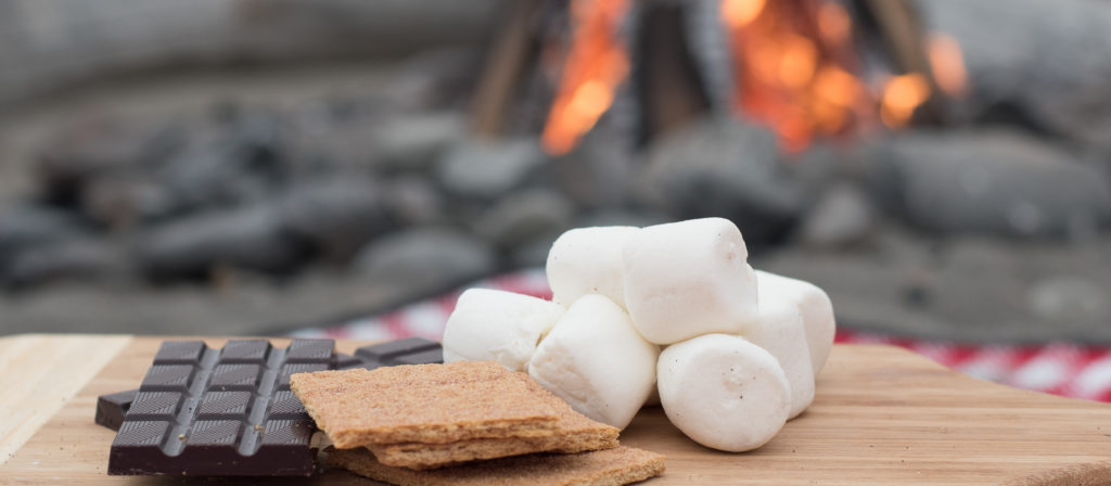 Absolutely everyone loves delicious smores over a big fire!