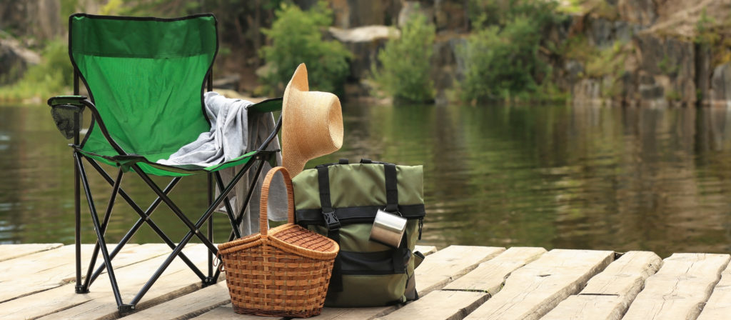 Quad camping chairs for a bad back are ideal for all fishers and hikers!