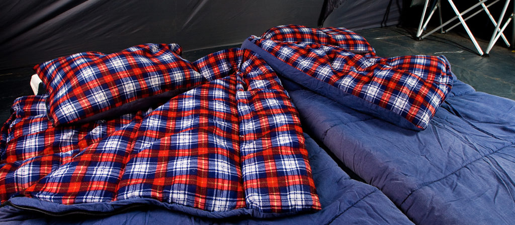 Sleeping bags simply do not cut it when it comes to back support and relieving pain.