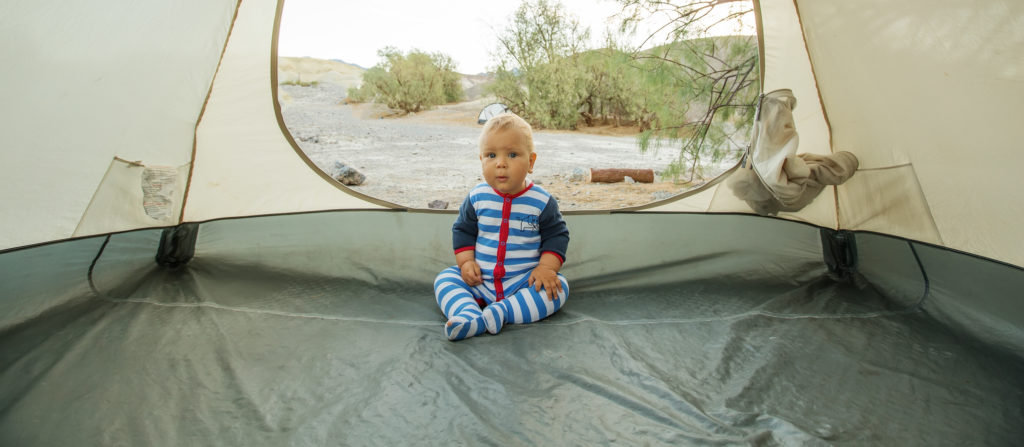 The right-sized tent is just the start of all camping essentials with a baby.