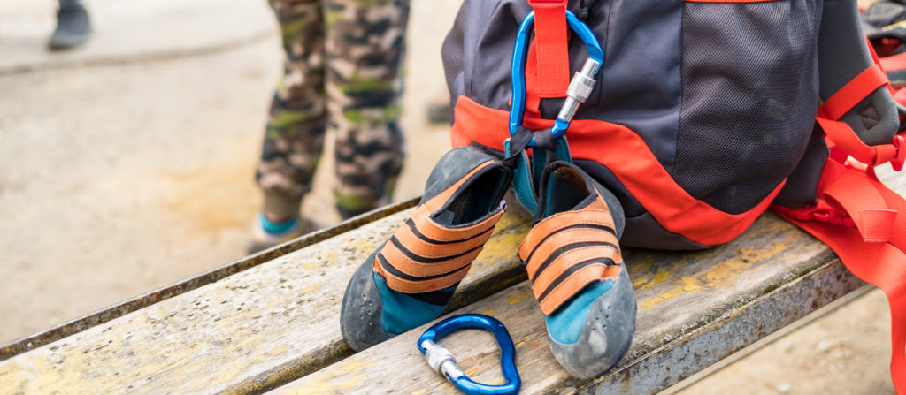 A good backpack is one of the many camping essentials with toddlers!