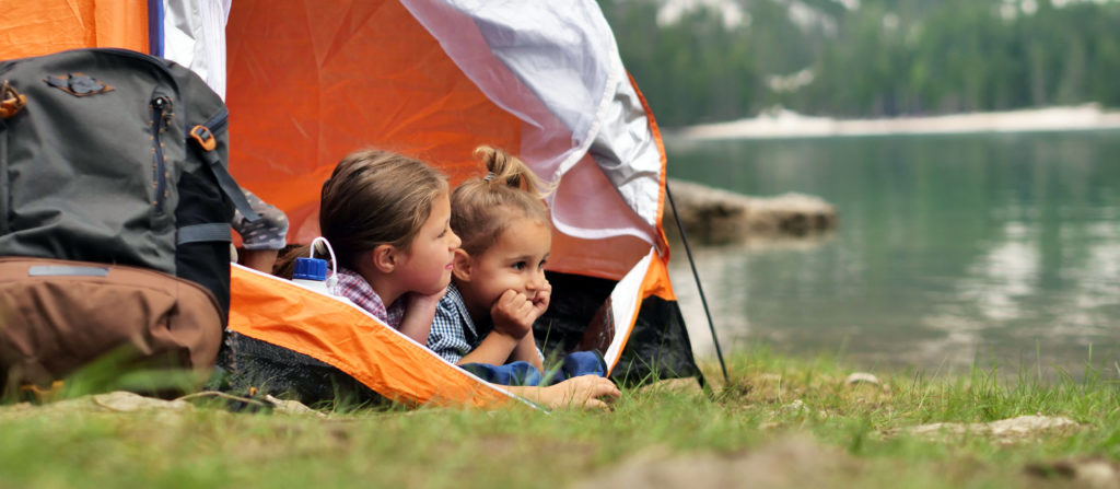 Toddlers are better off in a tent with you or their siblings.