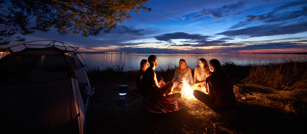 Tell impressive campfire stories to your children and their friends. Be the legend of each and every camping trip.