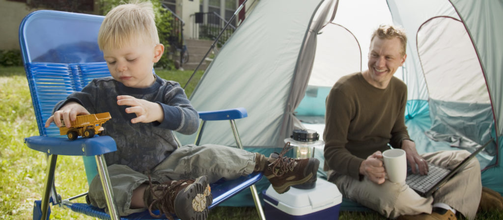 The right toddler camping chair provides a fun space for relaxation!