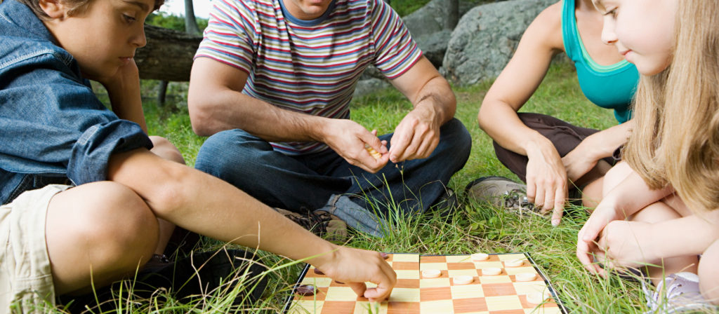 Checkers and Chess can be taken just about anywhere!