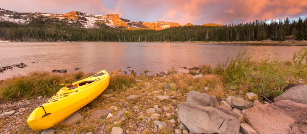 Canoeing is one of the most popular activities at campgrounds in Northern Minnesota.