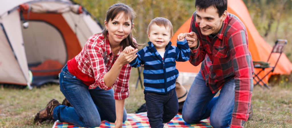 Camping with your baby is super easy with the right equipment and gear.