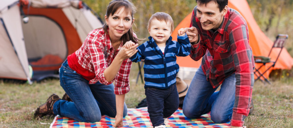 You and your partner can enjoy camping with a baby using our helpful tips!
