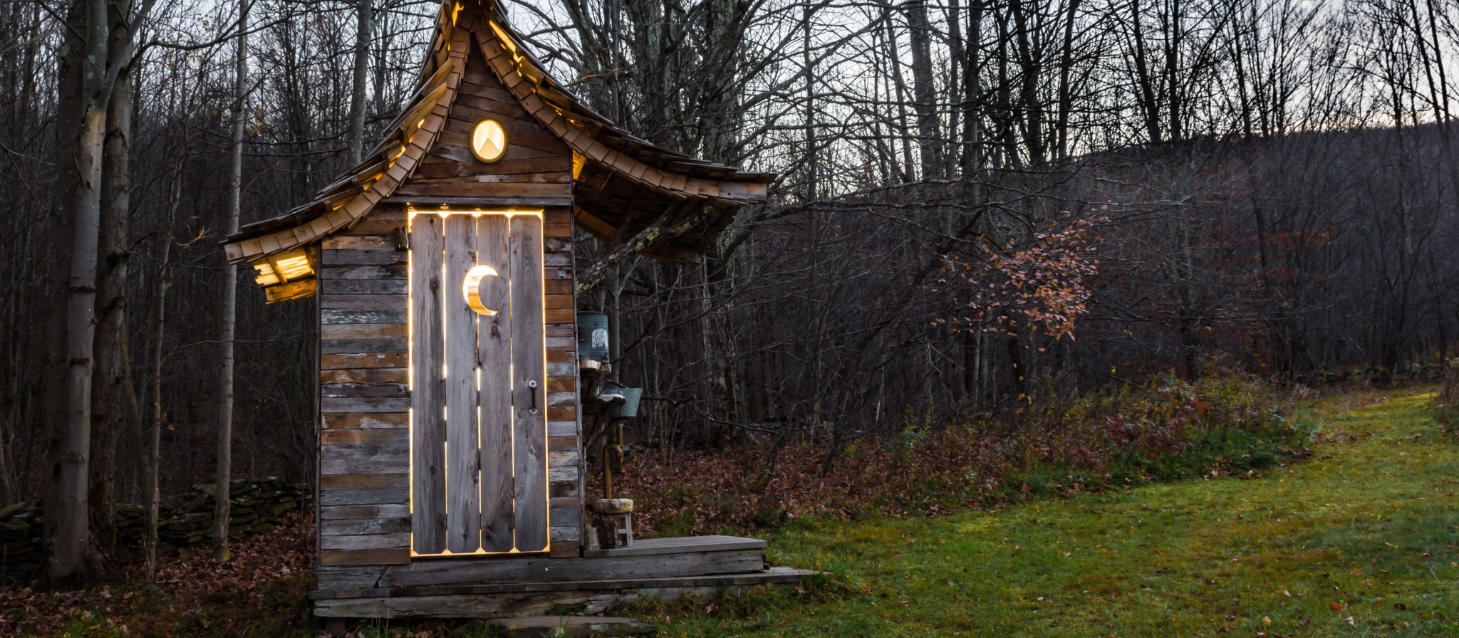 It is not very often a backpacker is lucky enough to happen upon an outhouse on their travels. If you do, always take advantage of it.