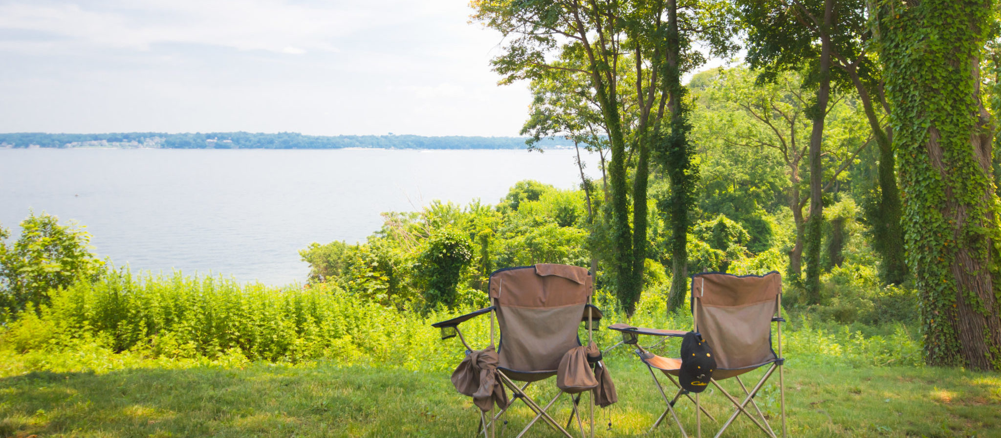 Bring along a camping chair or two to spend some quality time in the great outdoors with a friend or loved one. You will not regret your time.