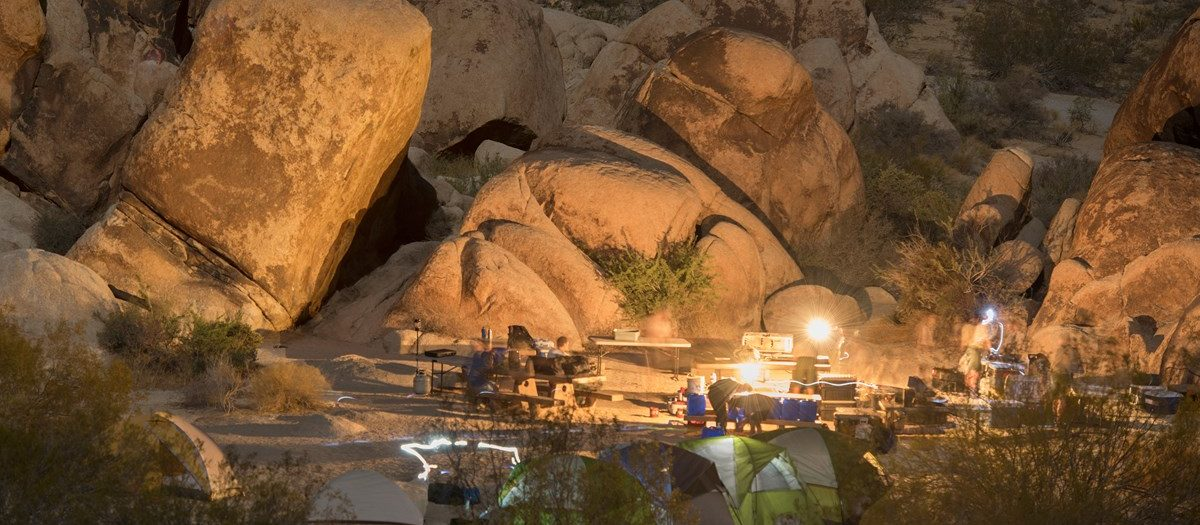 Joshua Tree National Park is one of the most renowned camping locales in the United States.