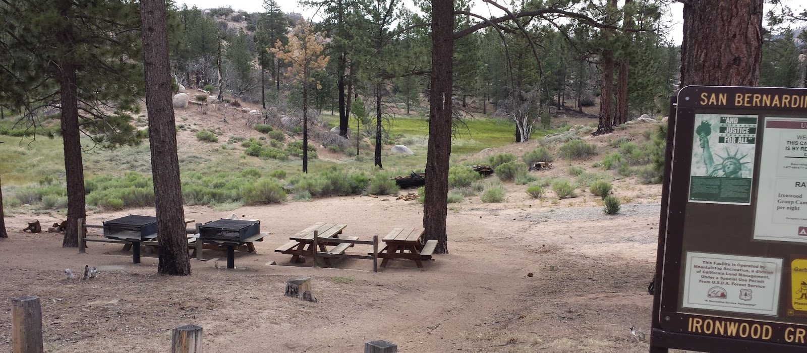 Stay at Ironwood to experience a great time in the outdoors without leaving San Bernadino county.