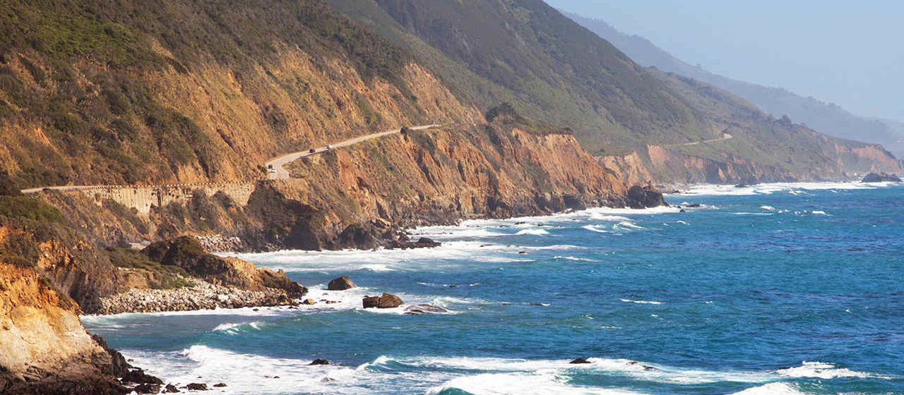 The views at Big Sur range from endless stretches of forest and mountain to unforgettable ocean views like this.