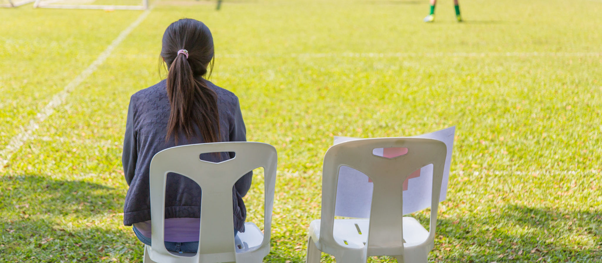 You don't want to find yourself stuck in an uncomfortable and flimsy plastic chair that leaves you feeling sore after just an hour or two of watching your little one's time on the field.