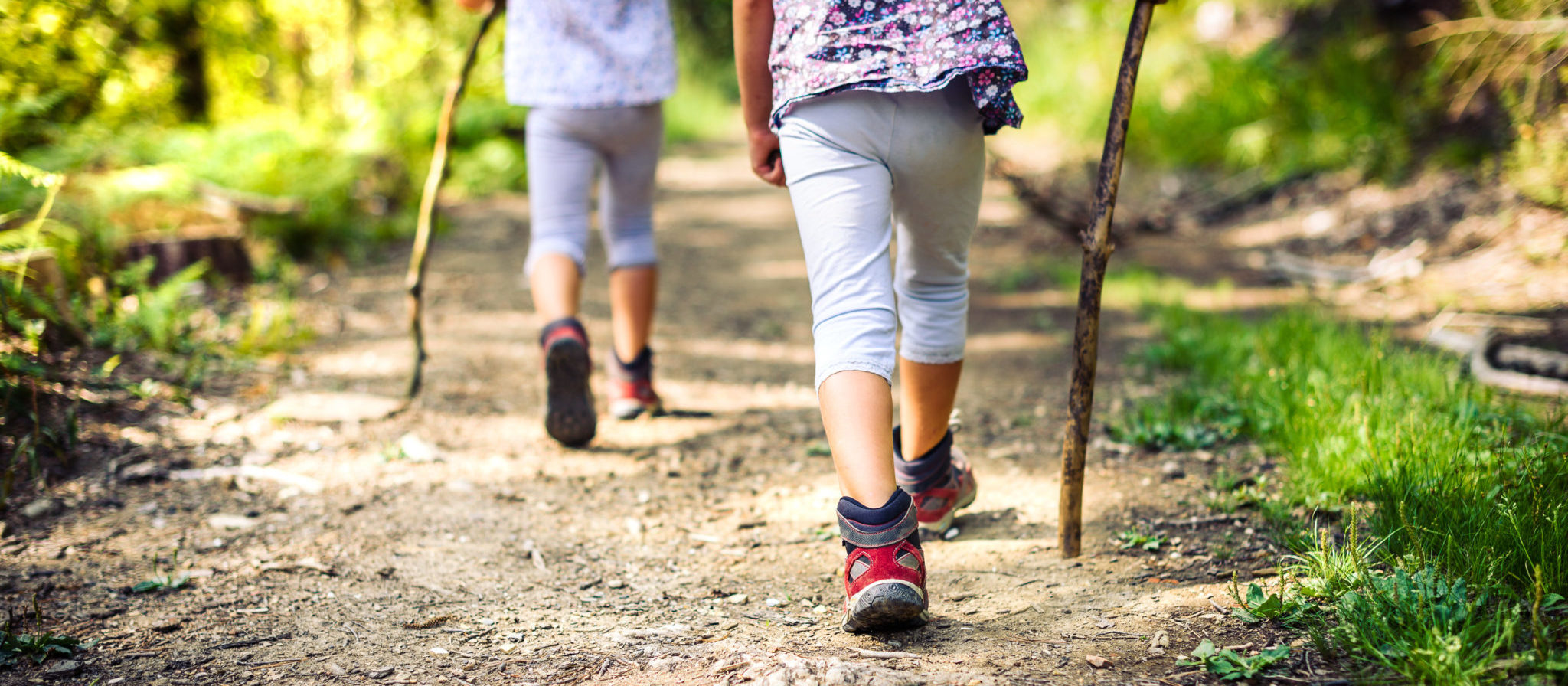 Bringing your little ones along hiking is a fantastic way to encourage healthy living, and there is no better place than in nature to exercise the imagination as well!
