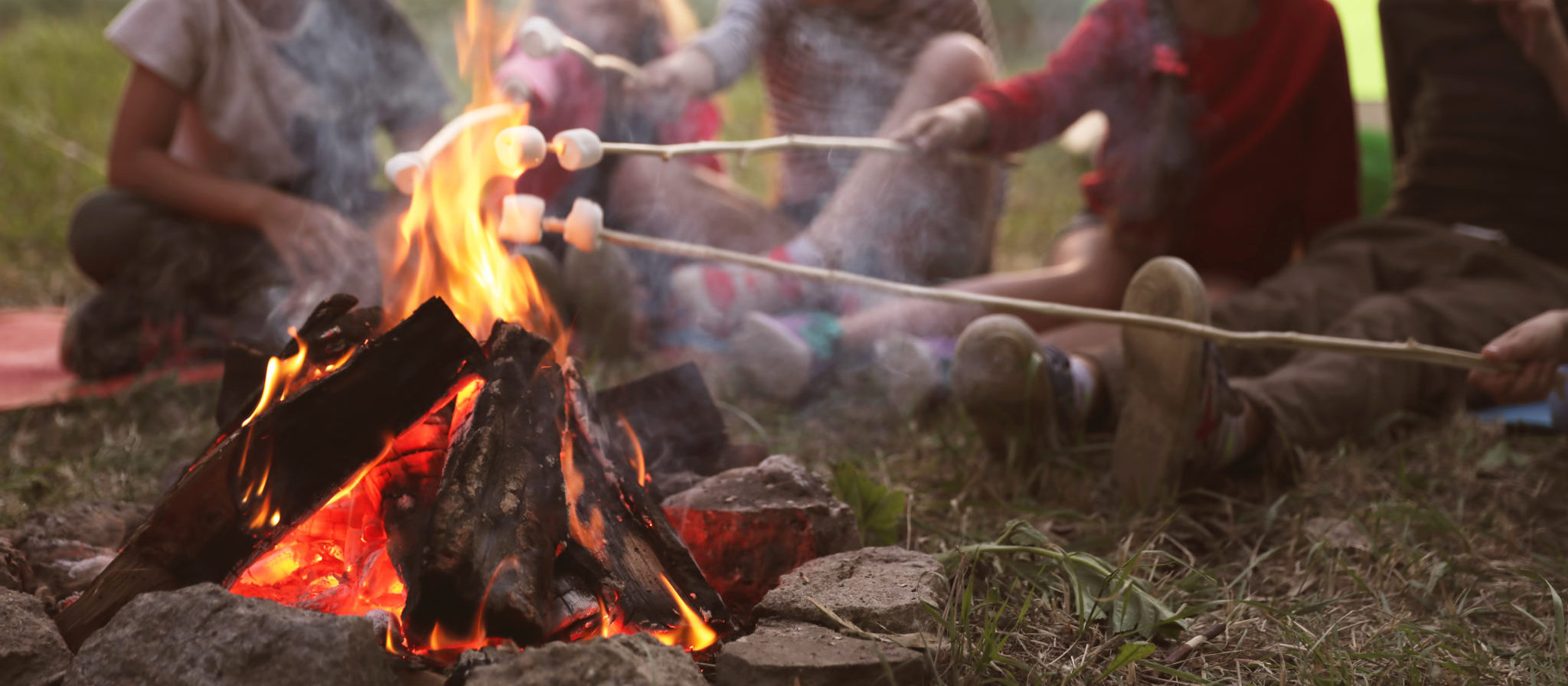 As long as you do not mind loading them up with a little bit of sugar as a special occasion, marshmallows, chocolate and graham crackers are must-have snacks on every camping adventure.