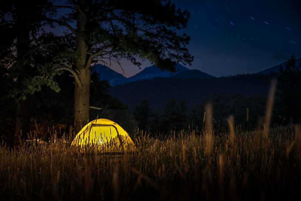 Camping with a Toddler Sleeping