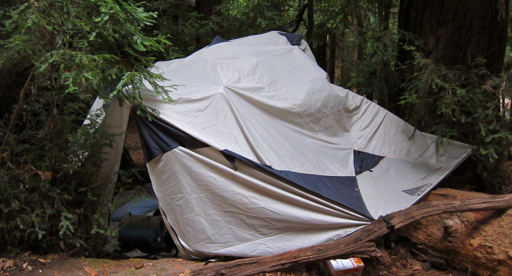 How to Keep Your Tent Dry Inside