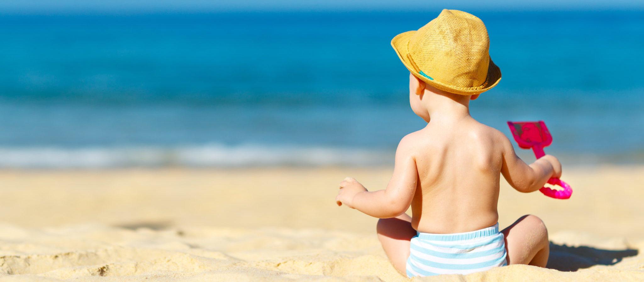 Toddler Beach Chair with Umbrella